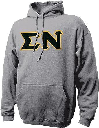 Sigma Nu Vintage Color Pullover Hooded Sweatshirt