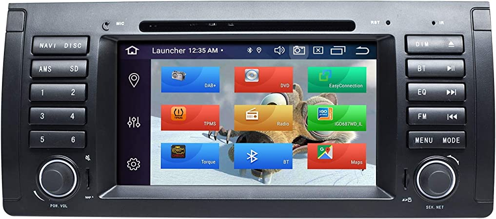 Zltoopai Car Stereo Stereo For Bmw X5 E53 E39 Android 10 Octa Core 4g Ram 64g Rom 7 Inch Ips Screen Double Din In Dashboard Car Gps Navigation Dvd Player Navigation