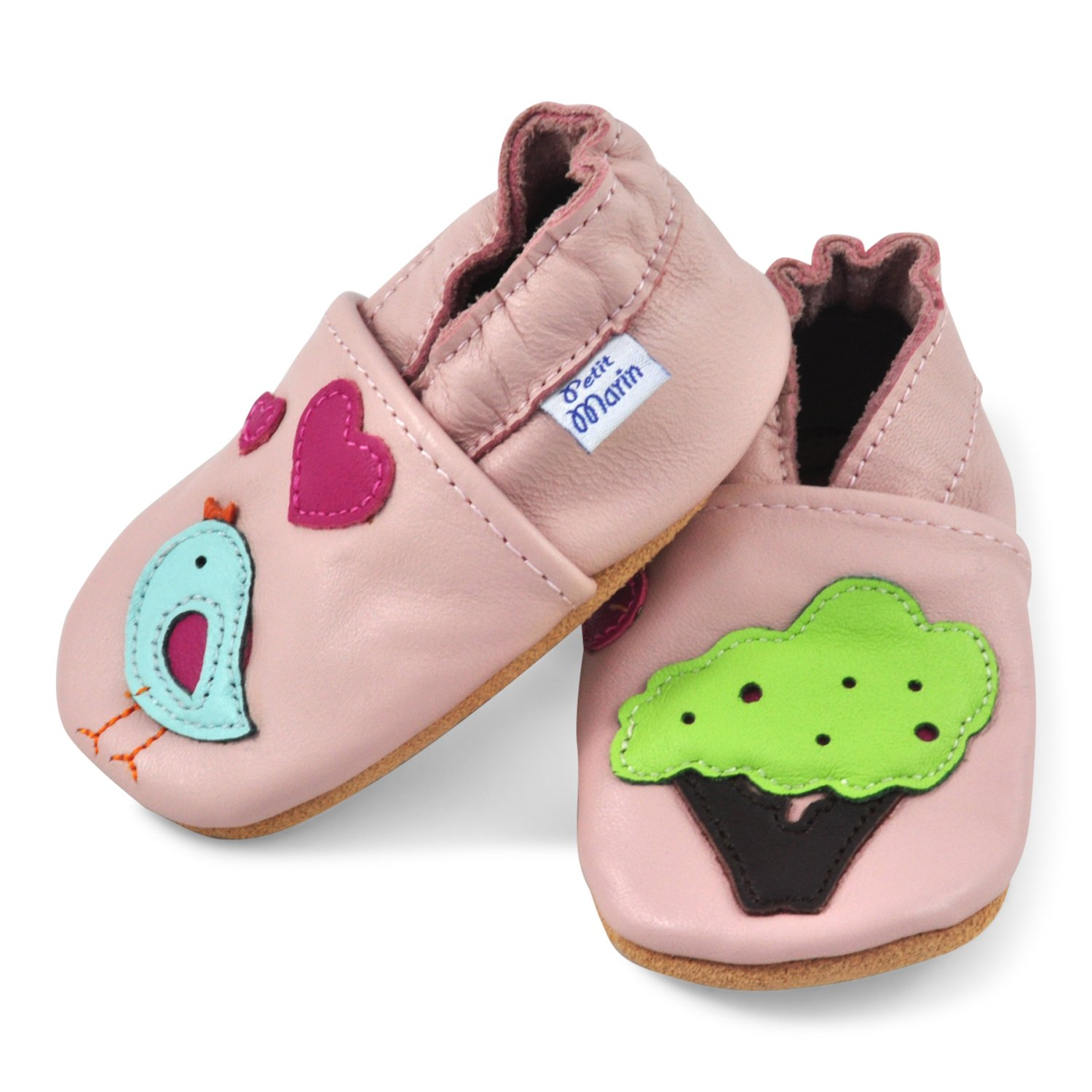 Petit Marin Soft Leather Baby Shoes