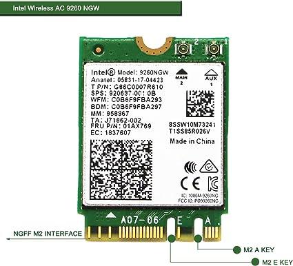 Amazon.com: NGFF M2 2230 - Adaptador de red inalámbrico para ...
