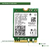 Wireless Network Adapter for Laptop and Desktop PCs?NGFF M2 2230 Wi-Fi Card-2.4GHz 300Mbps or 5GHz 1733Mbps(160MHz…