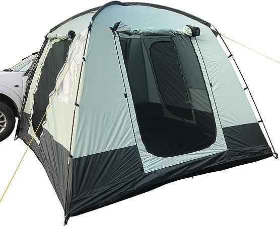 skandika Pitea Van - Tienda Avance para Furgonetas de Camping con 4 entradas - 4 Personas - 310 x 300 x 225cm - Suelo Cosido en Forma de bañera - ...
