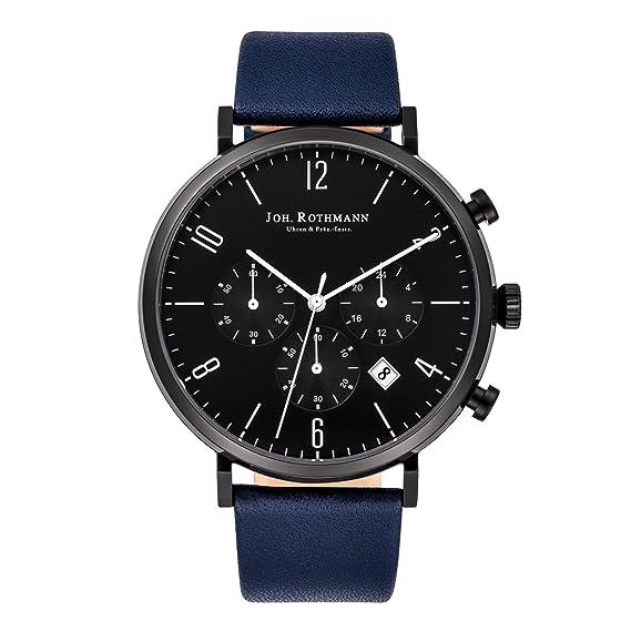 Rothmann Reloj de cuarzo 10030042 Azul 42 mm