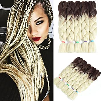 Amazon Com Liyate Jumbo Braid Hair 24 Inch 100g Pc Braiding Twist