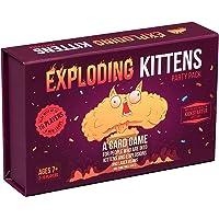 Exploderande kattungar paket för upp till 10 spelare familjevänliga festkortspel för vuxna, tonåringar och barn