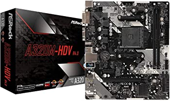 ASRock AMD Ryzen AM4 Compatible with A320 Chip MicroATX Motherboard