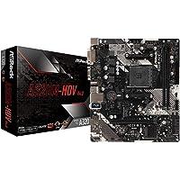 ASRock AMD Ryzen AM4 Compatible avec Carte mère A320 MicroATX A320M-HDV R4.0