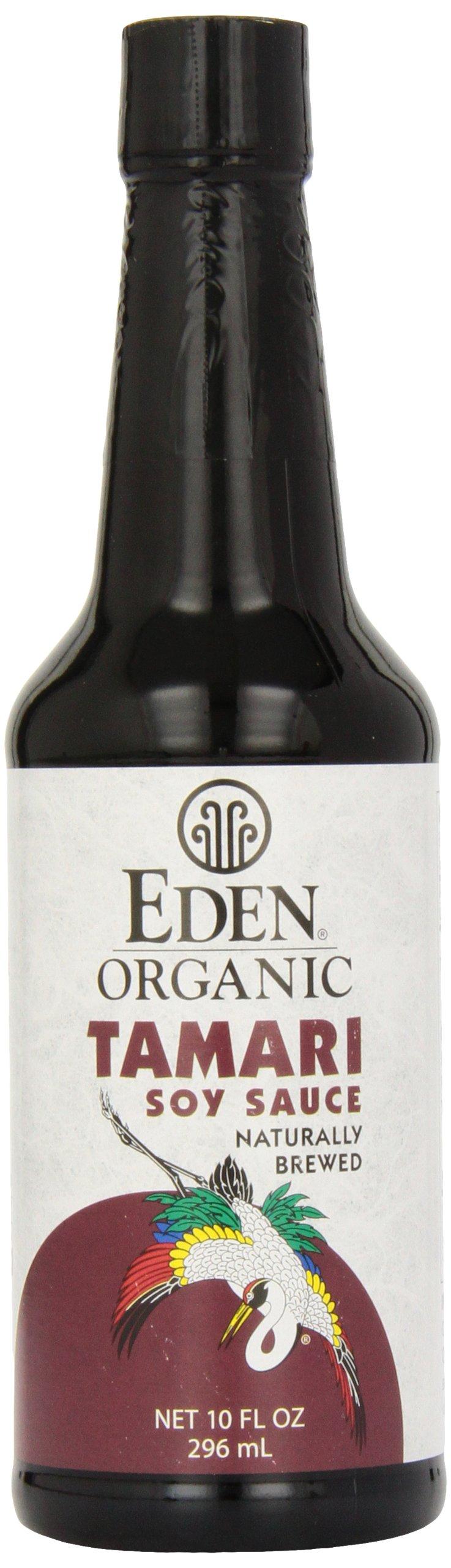 Eden Foods Tamari, Domestic, W/F, Og, 10-Ounce (Pack of 4)