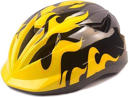 Athyior Casco Bicicleta niño Ciclismo Seguridad Helmet Casco Bici Ajustable 50-54cm para 4-12 años para Ciclo patineta Scooter Patinaje Rodillo Blading: Amazon.es: Deportes y aire libre