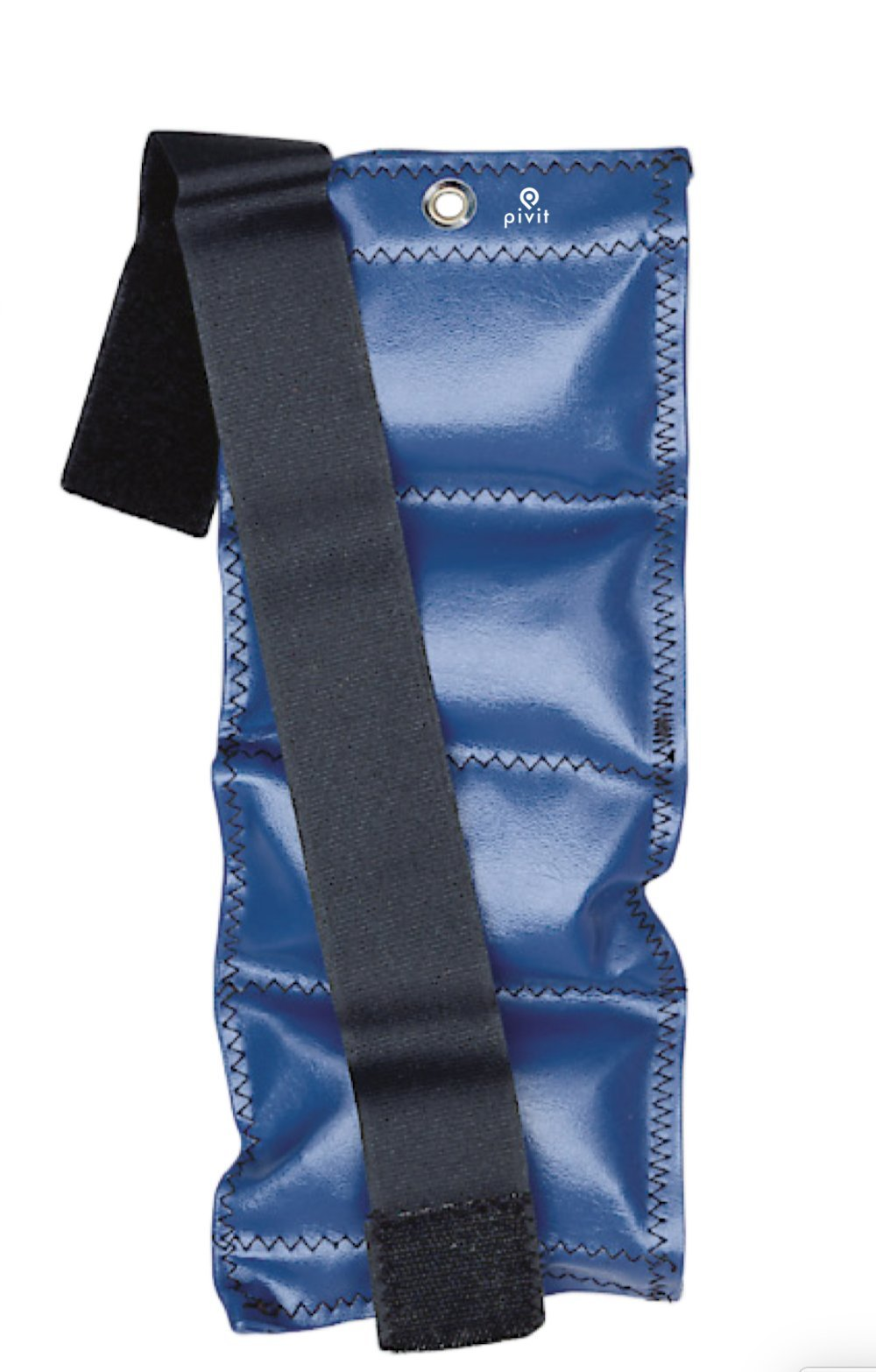 Pivit Exercise Weight Cuffs | 4 lb (1.81 kg) Blue | Stays Put Even During Strenuous Exercise | Flexible Weight Contours to Ankles, Wrists and Thighs | Proven Effective in Hospitals for Over 30 Years