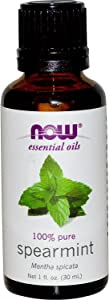 Spearmint Oil - 1 OZ (100% Pure and Natural) from Now (Pack of 2)