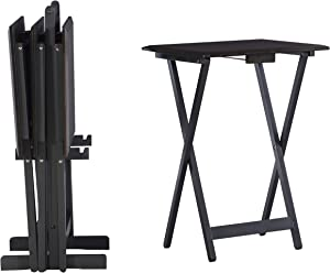 Linon Home Decor Linon Kearney Grey Set Tray Table et