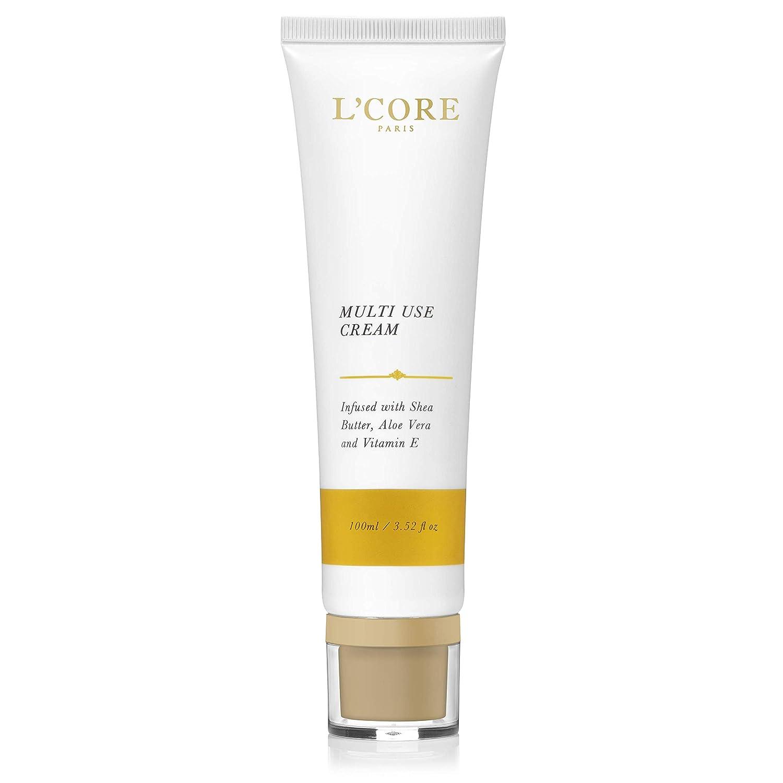 Multi Use Cream by L'Core Paris - Day and Night Anti Aging, Rejuvenating and Hydrating Skin Cream - Skin Nourishment Regenerist Moisturizer with Dead Sea Minerals