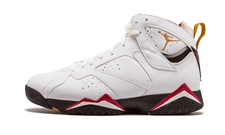 sports shoes 1b7b1 883d5 ... Amazon.com Jordan Air Jordan 7 Retro Cardinal, White Baske  Air Jordan  7 Retro Cardinals WhiteBlack-Cardinal Red-Bronze ...