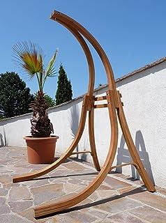 Gestell BEATA Aus Holz Lärche Für Hängesessel OHNE Sessel (nur Gestell) Von  AS