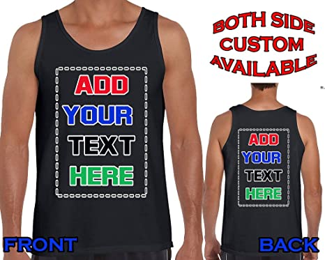 d692ffc37 CARTOON CITY Custom Basketball Tank Tops - Make Your Own Jersey - Personalized  Team Uniforms -