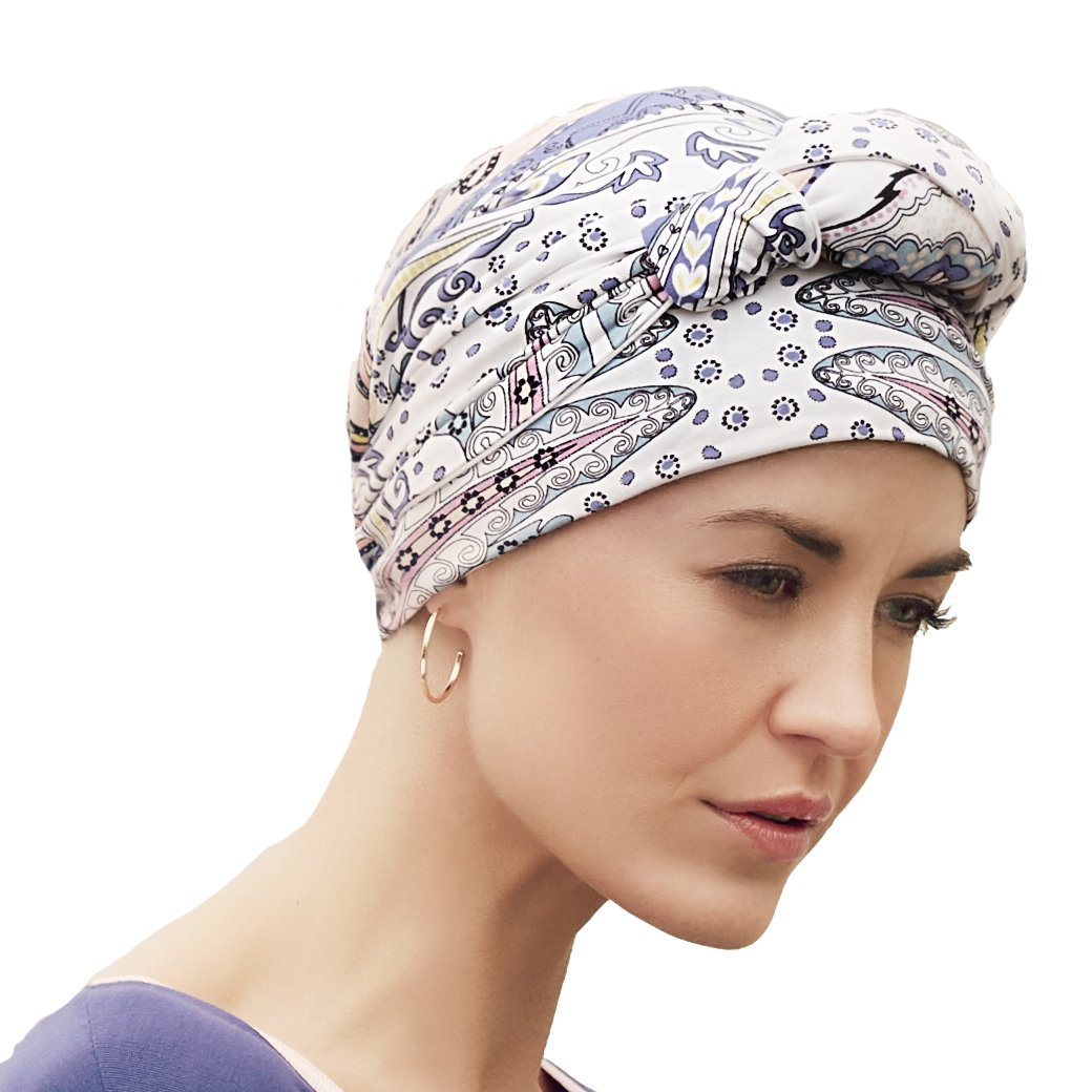 33bf11eacba33 Extremely comfortable long ribbons reversible Mantra turban with  Kaleidoscope Print  Amazon.co.uk  Sports   Outdoors