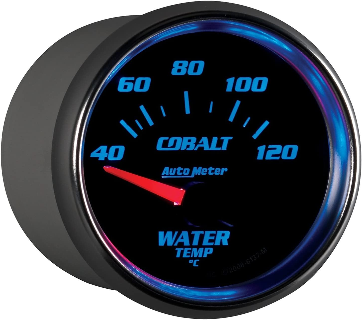 Autometer Water Temperature Gauge New 6137-M