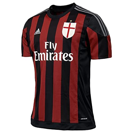 adidas 2015-2016 AC Milan Home Shirt (Kids)