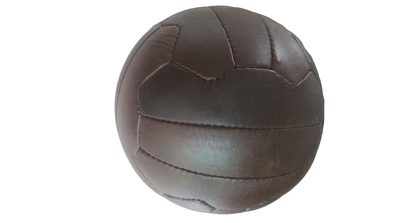 /replica di palline usato nel 1950/da/ Pallone da calcio con lacci in pelle stile antico/ /regalo unico per tifosi di calcio