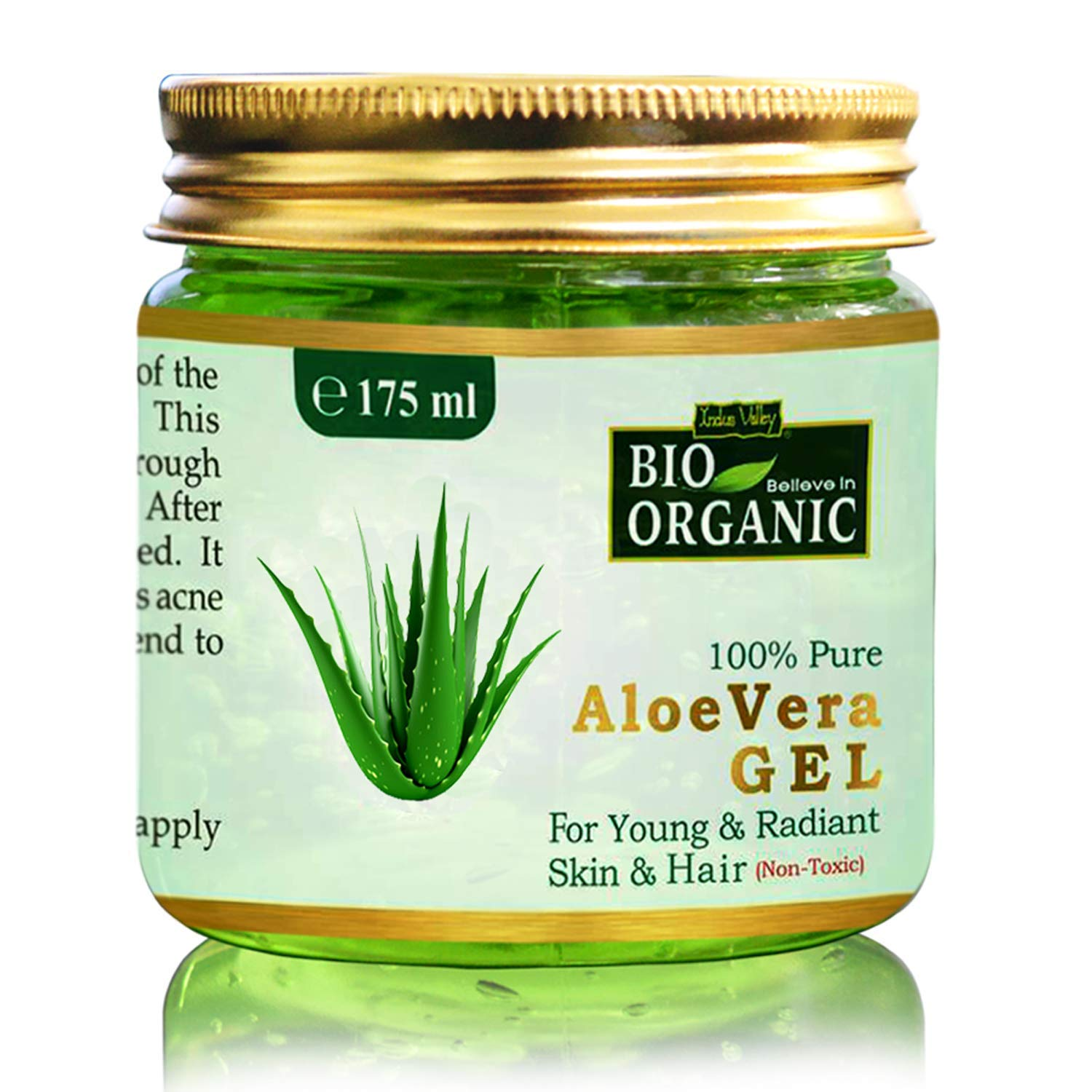 Indus Valley Bio Organic 100% Pure Aloe Vera Gel