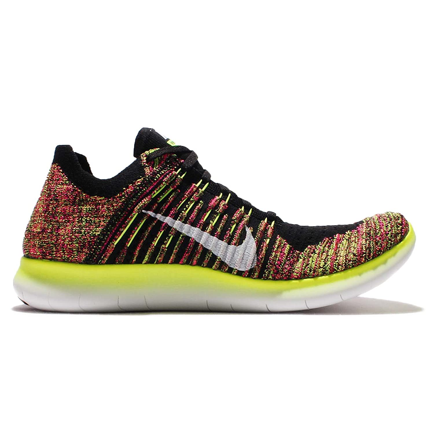 new style 5a5fd b6c73 Nike Free RN Flyknit Oc Mens Running Trainers 843430 Sneakers Shoes (UK 6.5  US 7.5 EU 40.5, Multi Color 999)  Buy Online at Low Prices in India - Amazon .in