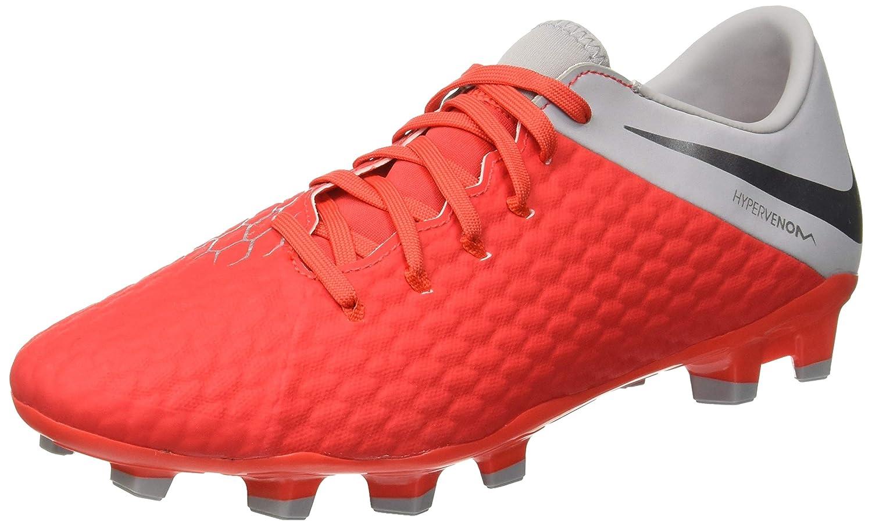 TALLA 44 EU. Nike Hypervenom 3 Academy FG, Zapatillas de Fútbol para Hombre