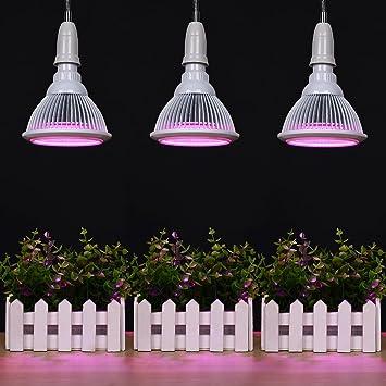 Mabor Lampe Croissance Plante Lampe Horticole Led 18w E27 Pour