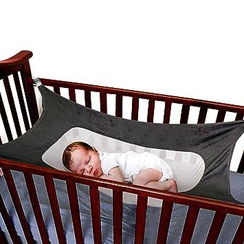 Wonderbaarlijk Amazon.com : LONYKIBEE Baby Hammock for Crib, Mimics Womb Help UV-22