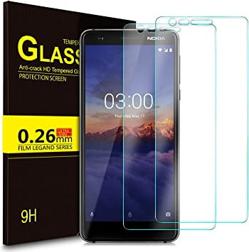 KuGi Nokia 3.1,Nokia 3 2018 Protector de Pantalla, Cristal ...