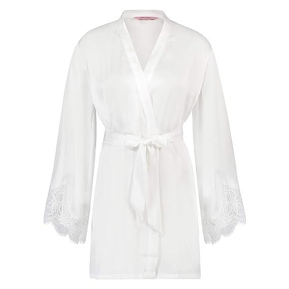 b0fa26cdfcb Hunkemöller Women Satin Kimono: Amazon.co.uk: Clothing
