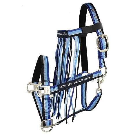 HV Polo - Cabestro con fliegenfransen KARTA - Azul - Talla caballo ...