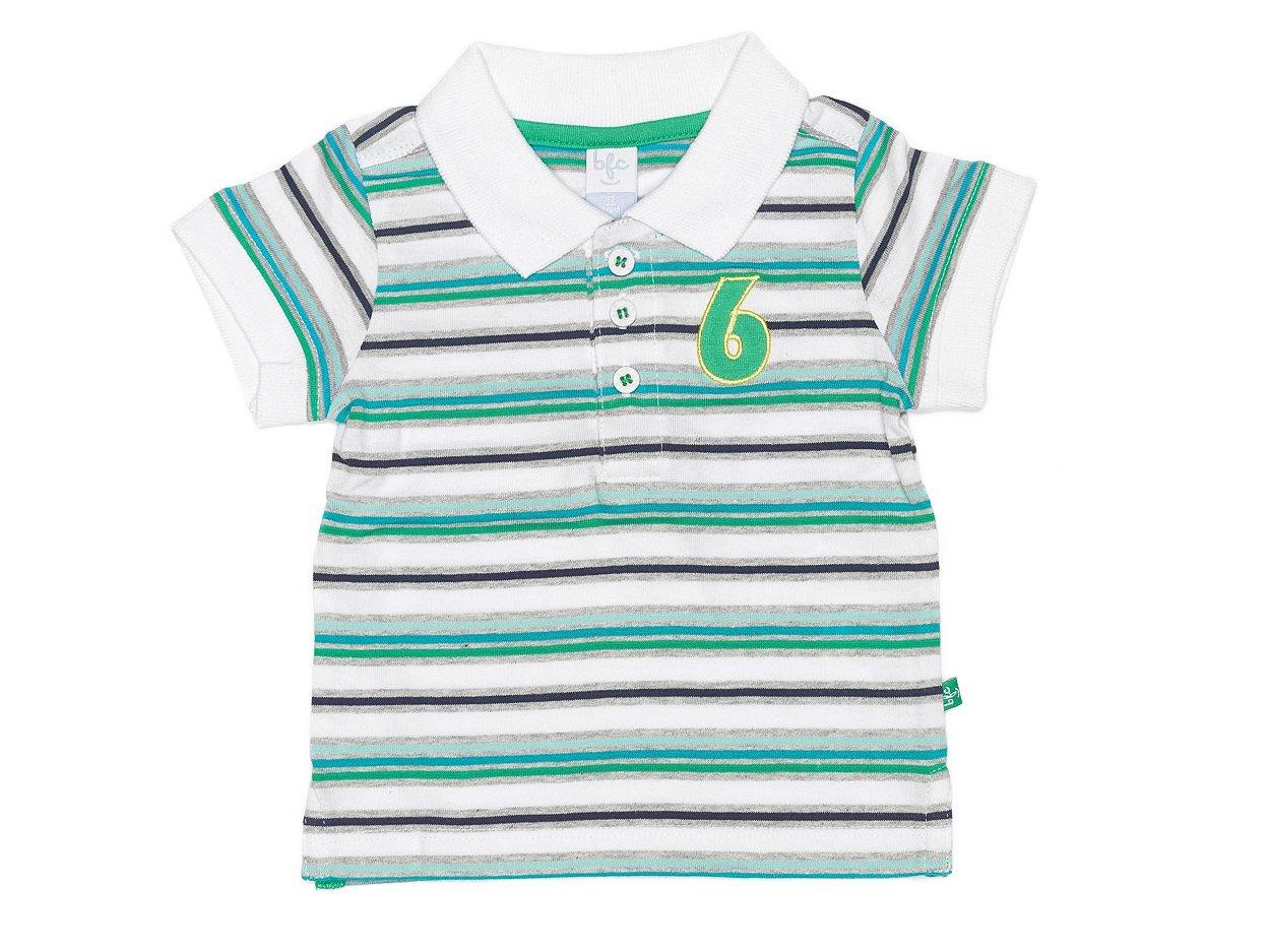 bfc Babyface - blanco de 100% algodón, talla: 62 (Baby boys polo ...