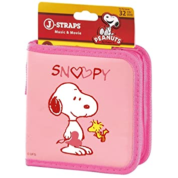 Hama J-Straps CD-/DVD-Tasche Snoopy in Love 32: Amazon.de: Computer ...
