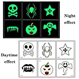 Nager Luminous Tattoo Stickers Waterproof Glow in