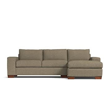 Fantastic Apt2B Melrose 2 Piece Sectional Sofa Raf Right Arm Facing Taupe Gmtry Best Dining Table And Chair Ideas Images Gmtryco