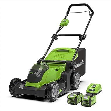 Greenworks Tools G40LM41K2X Mower
