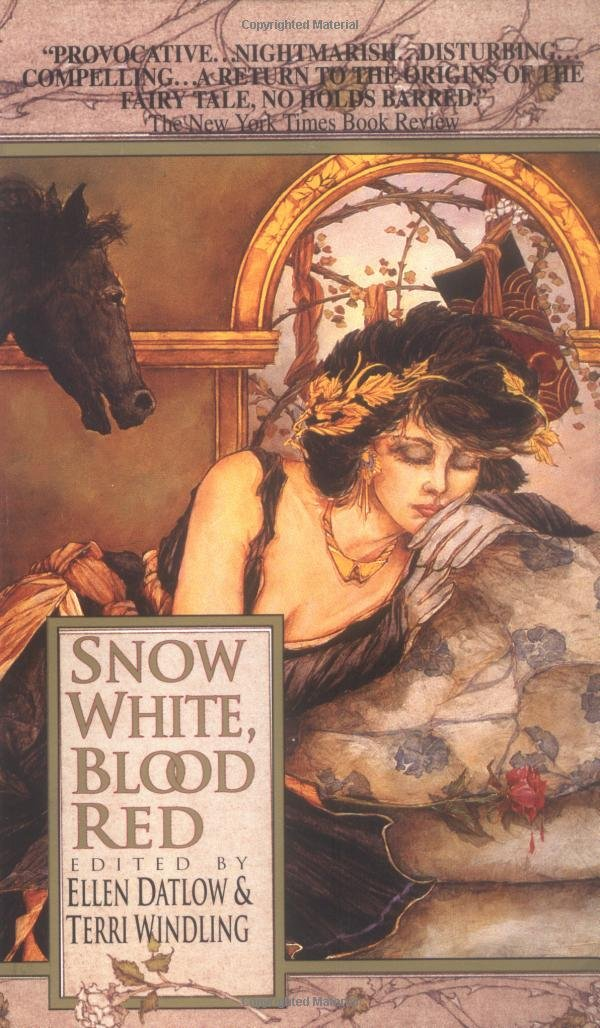 Image result for snow white, blood red book cover