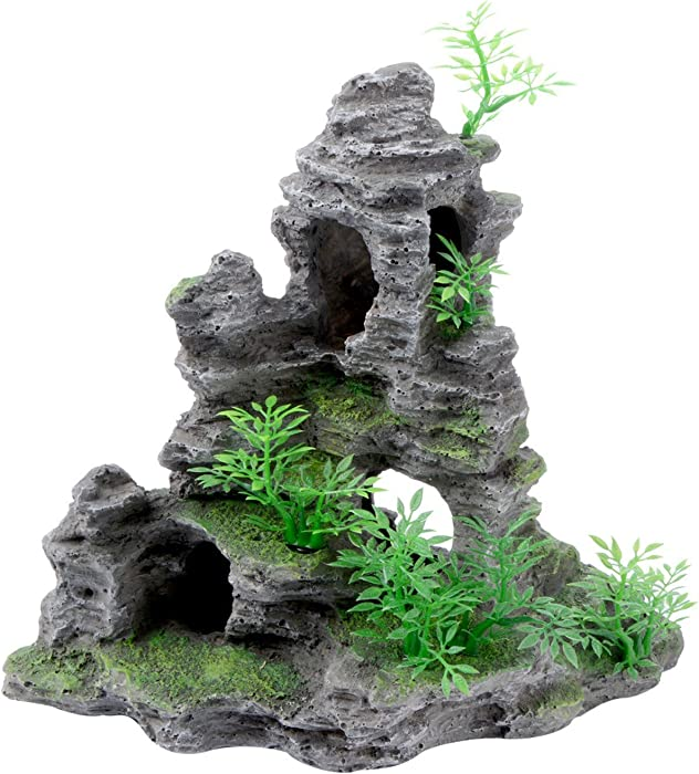 Top 9 Saim Fish Tank Decor Mountain