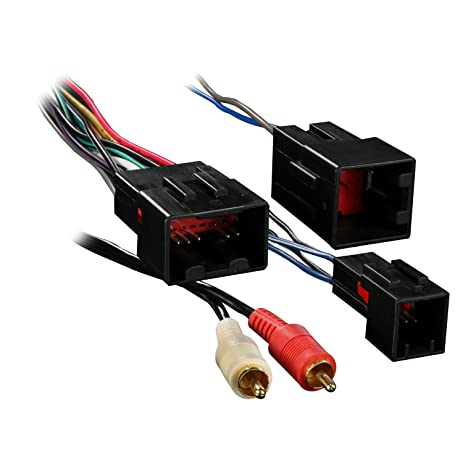 71D%2BRyxVd8L._SY463_ amazon com metra 70 5701 wiring harness for select ford vehicles  at edmiracle.co