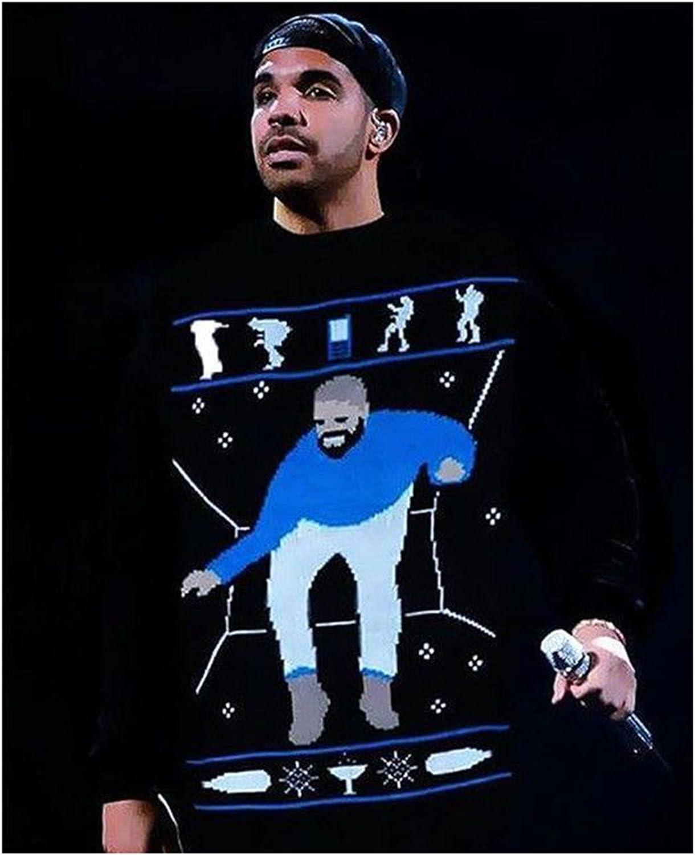 Fashion Box Womens Hotline Bling Drake Graham Inspired Christmas Sweater Jumper