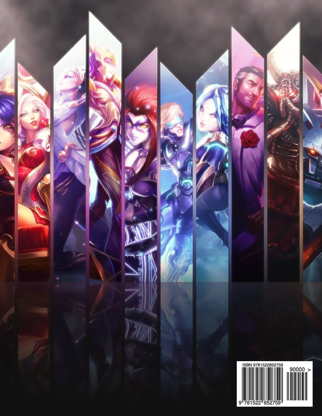 League Of Legends Creative Colouring LOL LoL Gamer Esports Riot Games Gaming Books Twitch Nightblue3