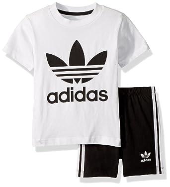 eab9ff8d5b53 Amazon.com  adidas Originals Baby Boys Originals Short   Tee Set ...