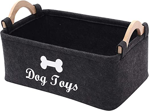 Morezi Caja de Juguete de Fieltro para Mascotas y Caja de Juguetes ...