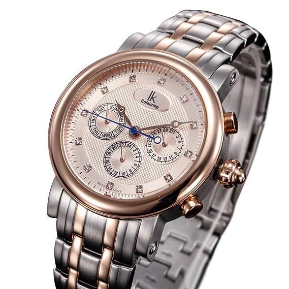 Reloj de hombre versátil/ casual hombres Watch/Relojes mecánicos automáticos/Relojes de moda-C: Amazon.es: Relojes