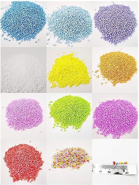 Lorenlli 2 Pack Slime Foam Balls Florero Botella Llenadora Kit de ...