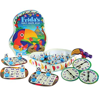 Educational Insights Frida's Fruit Fiesta Game, Alphabet Game for Preschool, Ages 4 and Up: Toys & Games