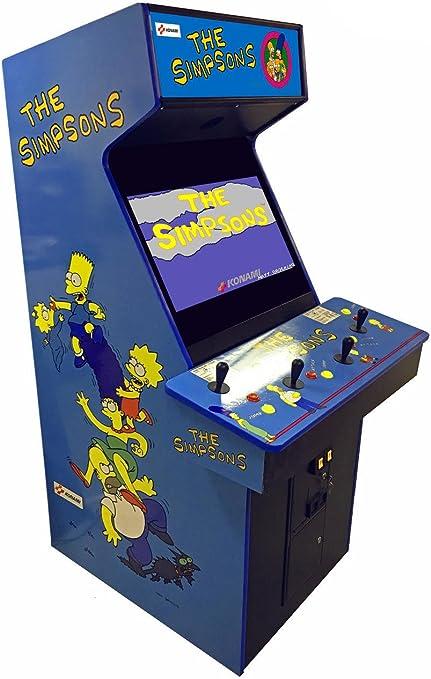Konami Simpsons 4 Player Arcade Game