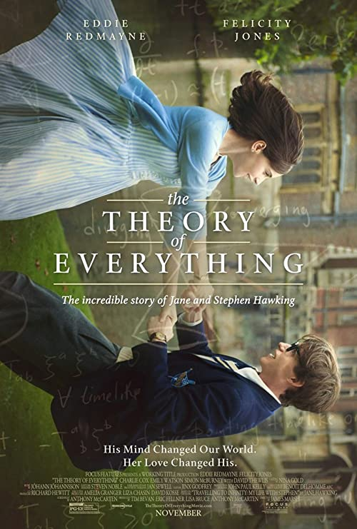 Image result for the theory of everything movie poster