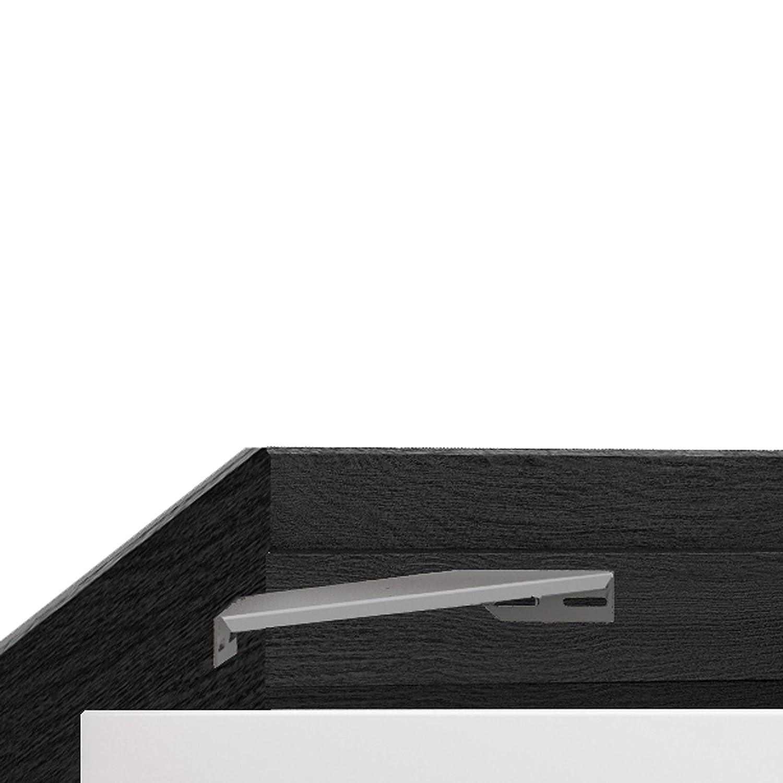 Habitdesign 006088MT - Cama con 4 cajones para somier de 150 x1 90 cm, Dimensiones Exteriores 196 x 156 x 37 cm Altura (Negro Malla): Amazon.es: Hogar